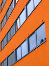 Orange wall Royalty Free Stock Photo
