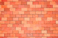 Orange wall surface of a terracotta colored Stock Images