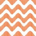 Orange waves pattern.