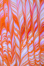 Orange and white abstract Royalty Free Stock Photography