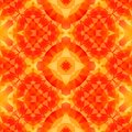 Orange yellow kaleidoscope mosaic seamless pattern texture background Royalty Free Stock Photo