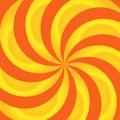 Orange And Yellow Swirls Abstr...