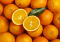 Oranges background Royalty Free Stock Image