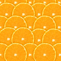 Oranges background sliced for texture or Royalty Free Stock Photo