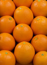 Oranges fresh background close up Stock Images