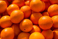 Oranges full frame take of on display on a street market stall Stock Image