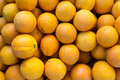Oranges on a market stall Royalty Free Stock Images