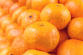 Oranges stacked together Royalty Free Stock Photo