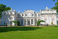 ORANIENBAUM, RUSSIA. A facade of the Chinese palace in summer day Royalty Free Stock Photo