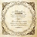 Orate frame ornate for invitations or announcements vector illustration Royalty Free Stock Photography