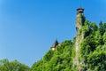 Orava castle tower in Oravsky Hrad, Slovakia
