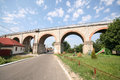 Oravita anina railway a bridge in caras severin county romania Stock Photos