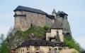 Oravsky castle in Slovakia