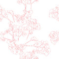 Orchids pattern seamless retro with orchid hand drawn illustration of a new shabby chic embroidery motif with flowers Stock Image