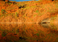 Ord river in western australia the kimberleys Royalty Free Stock Images