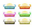 Order Button Royalty Free Stock Photo