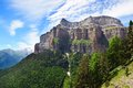 Ordesa national park pyrenees spain Royalty Free Stock Image
