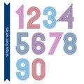 Ordinary geometric numbers