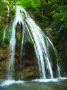 An ordinary waterfall Royalty Free Stock Photography