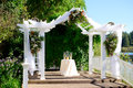 Oregon Wedding Venue by Lake Royalty Free Stock Photo