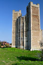 Orford Castle Stock Image