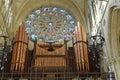 Organ In Arundel Cathedral.