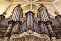 Organ in a church Royalty Free Stock Photo