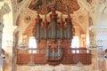 Organ of Ebersmunster's church, Alsace