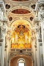 Organ at Passau Cathedral Royalty Free Stock Photos
