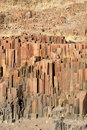 The Organ Pipes, Damaraland, Namibia. Royalty Free Stock Photography