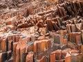 Organ Pipes Rock Formations