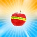 Organic apple Royalty Free Stock Photo