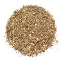 Organic Basil or Tulsi Masala Green tea isolated on white background Royalty Free Stock Photo