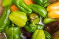 Organic Bell Peppers Royalty Free Stock Photo