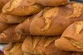 Organic bread unadulterated natural closeup Stock Photos