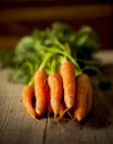 Organic carrots. Royalty Free Stock Photo