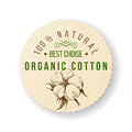 Organic cotton label