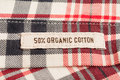 Organic cotton textile Royalty Free Stock Photo