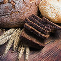 Organic ecology bakery fresh natural Royalty Free Stock Images
