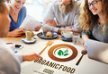 Organic food healthy nourishment concept Royalty Free Stock Photo