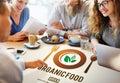 Organic Food Healthy Nourishment Concept Royalty Free Stock Photo