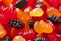 Organic Fruit Gummy Snacks for Kids Royalty Free Stock Image