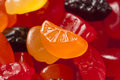 Organic Fruit Gummy Snacks for Kids Stock Photography