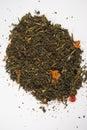 Organic Green Chai Tea Royalty Free Stock Photo