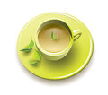 Organic green tea Royalty Free Stock Photo