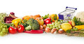 Organic groceries concept Royalty Free Stock Photo