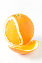Organic orange Royalty Free Stock Photography