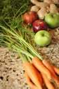 Organic produce for juicing Stock Photography