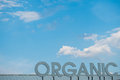 Organic sky clean unpolluted skies with good health Stock Photos
