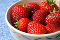 Organic Strawberies Royalty Free Stock Photo